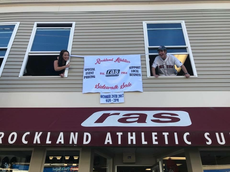 Rockland Athletics Sidewalk Sale October 28, 2017