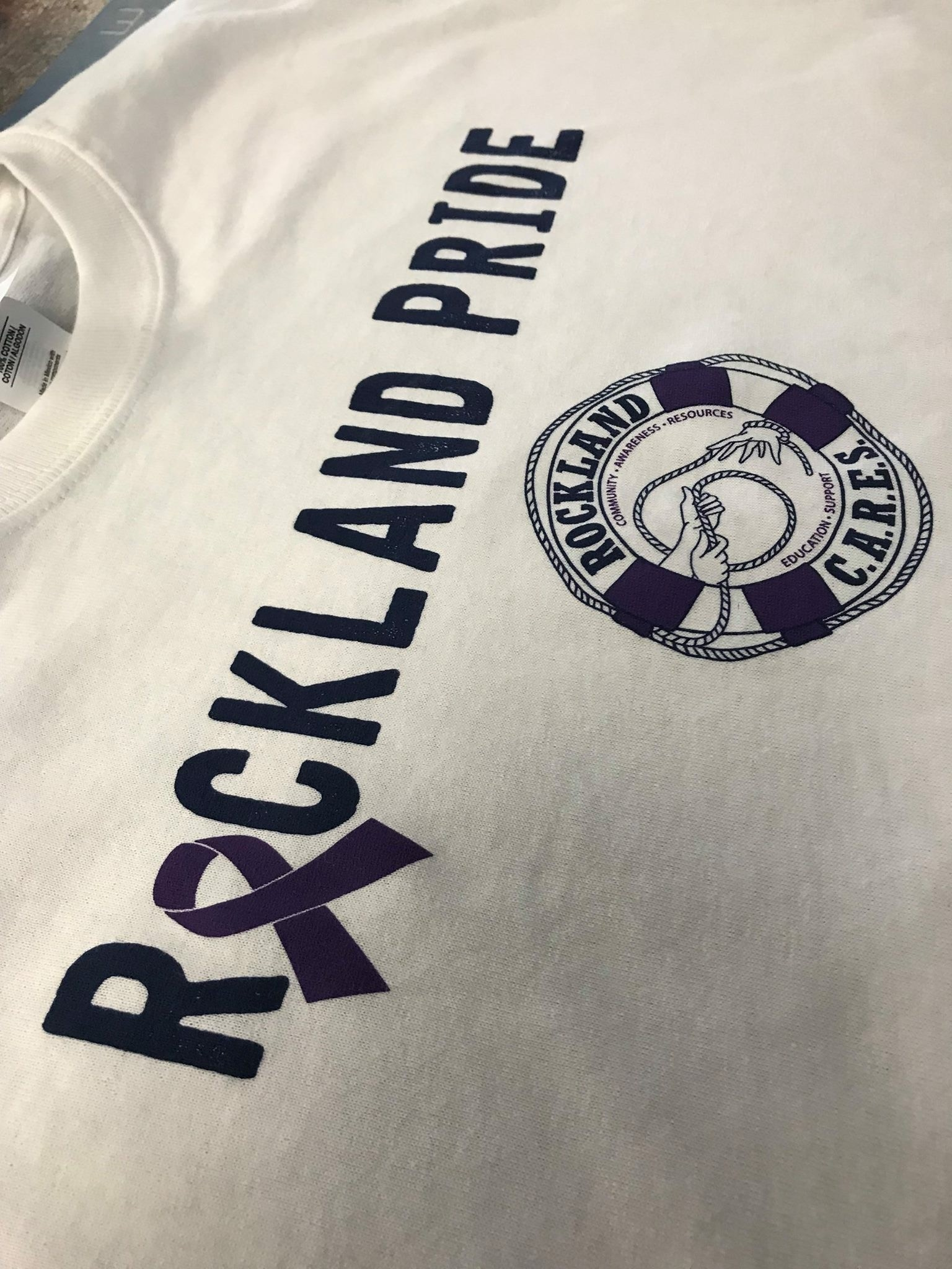Rockland Pride Tees for Opioid Crisis Awareness