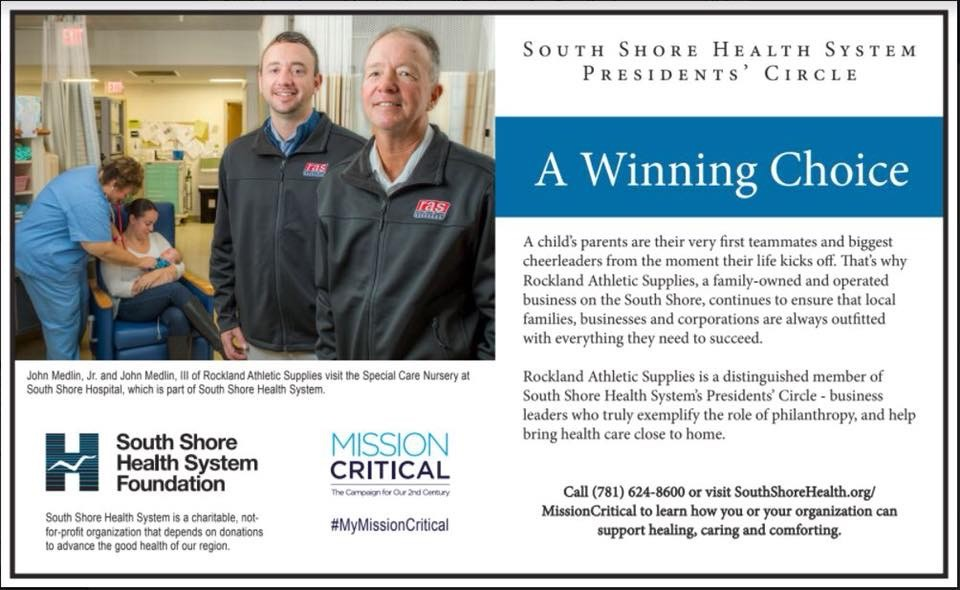 South Shore Health System President's Circle Featuring Owners John & Johnny Medlin