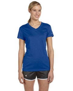 Russell Athletic Ladies' Dri-Power® V-Neck T-Shirt