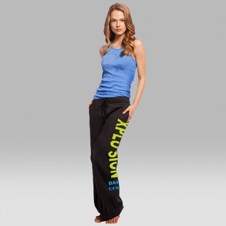 Xplosion Dance Center Boxercraft Open Bottom Sweatpants For Girls & Ladies