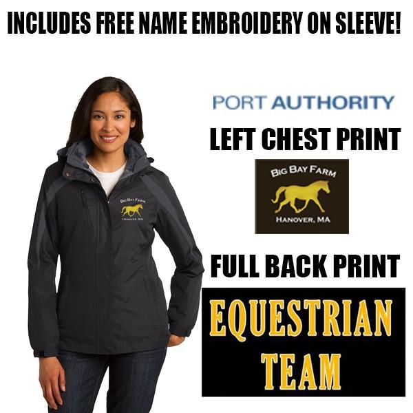 Big Bay Farm Port Authority Ladies Colorblock 3-in-1 Jacket #L321