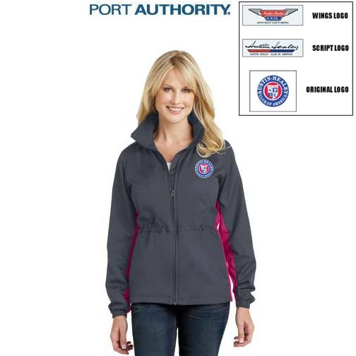 AHCA STEP- UP PROGRAM: Port Authority® Ladies Core Colorblock Wind Jacket, Embroidered Logo, Style #L330