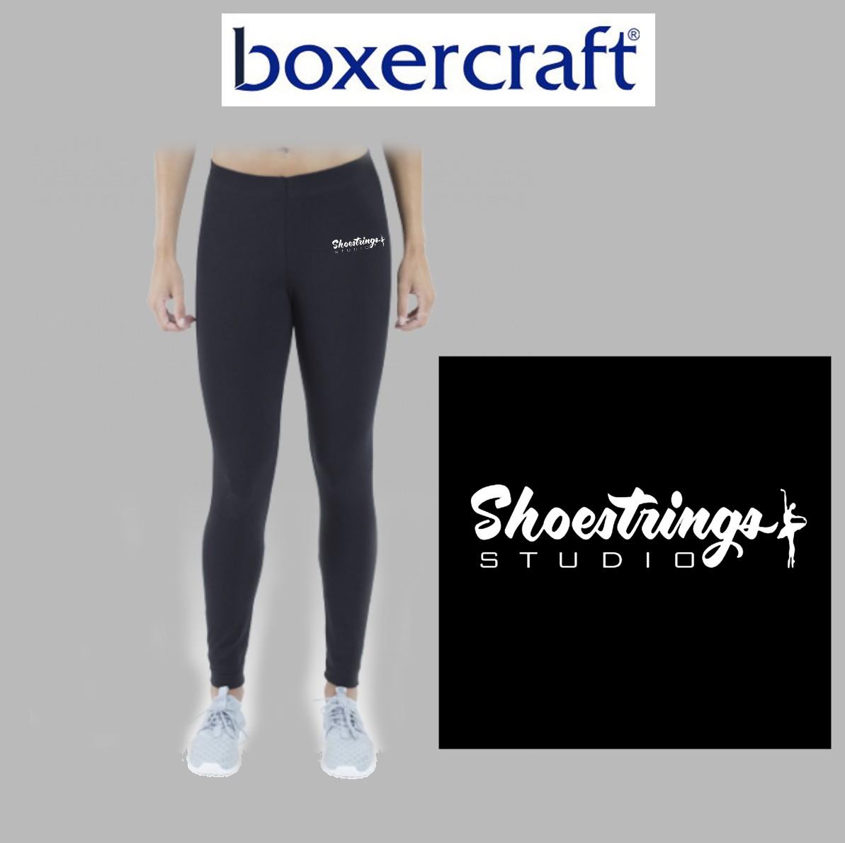 Shoestrings Studio Boxercraft Love em' Longer Leggings,Youth