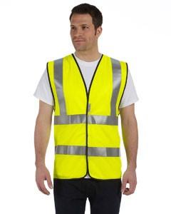 OccuNomix Premium Solid Dual Stripe Vest, Class 2- CLEARANCE