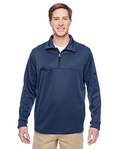 Harriton Adult Task Performance Fleece Half-Zip Jacket