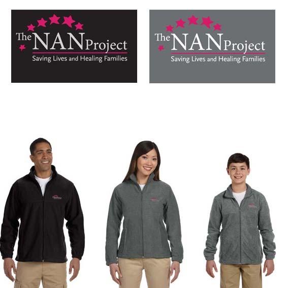 The NAN Project Harriton 8 oz. Full-Zip Fleece