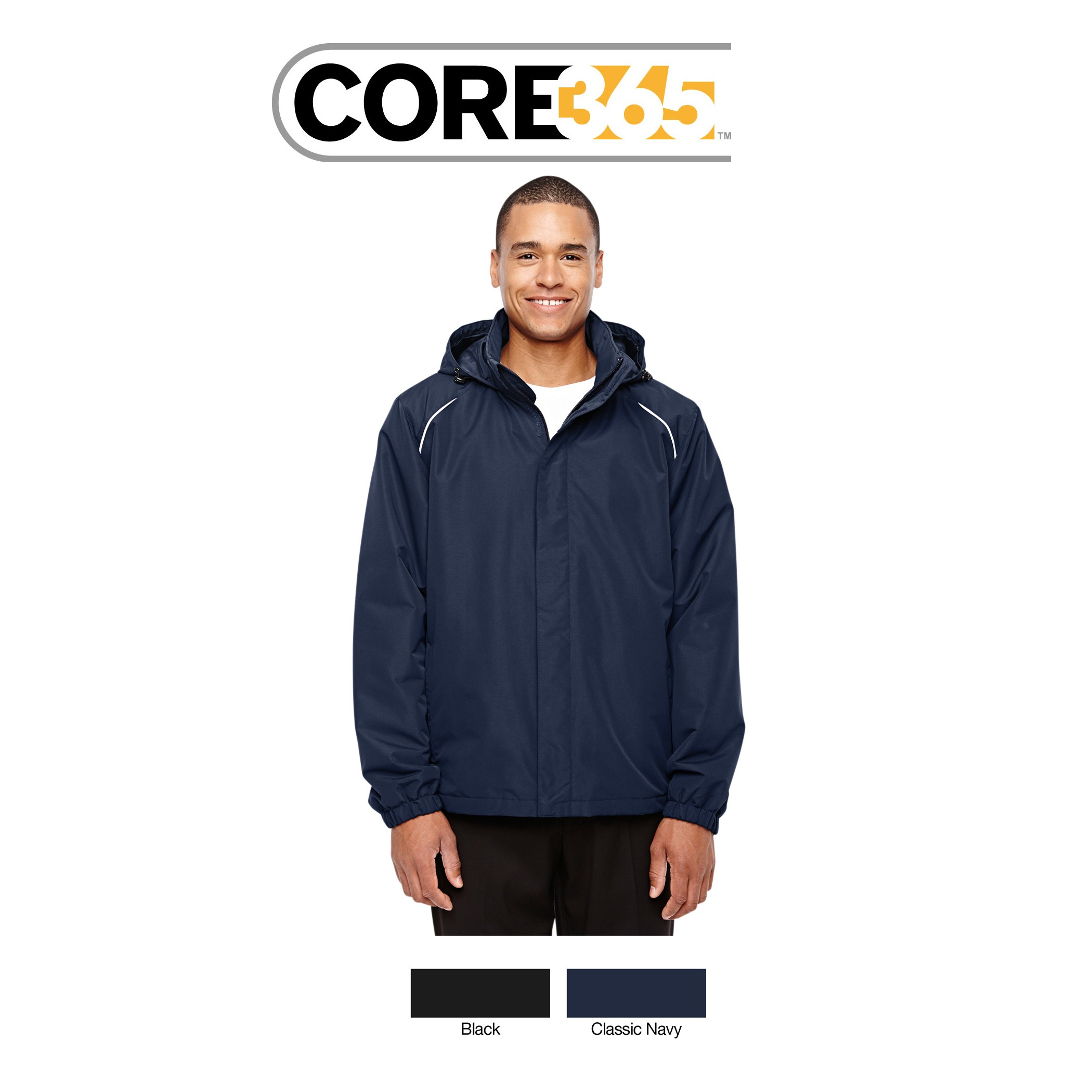 Ash City - Core 365 Men's Tall Profile Fleece-Lined All-Season Jacket 88224T