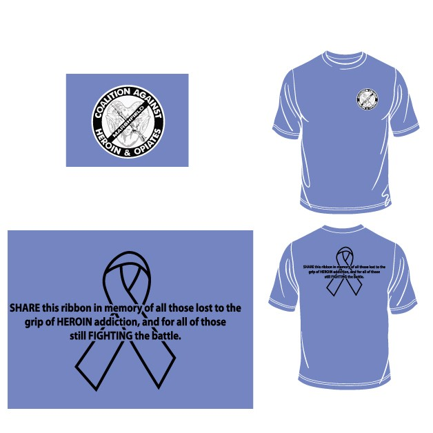 Marshfield Heroin Walk, Shirt Mock-Up