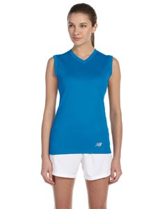 New Balance Ladies' Ndurance® Athletic V-Neck Workout T-Shirt