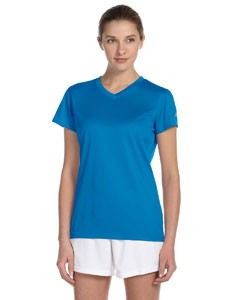 New Balance Ladies' Ndurance® Athletic V-Neck T-Shirt