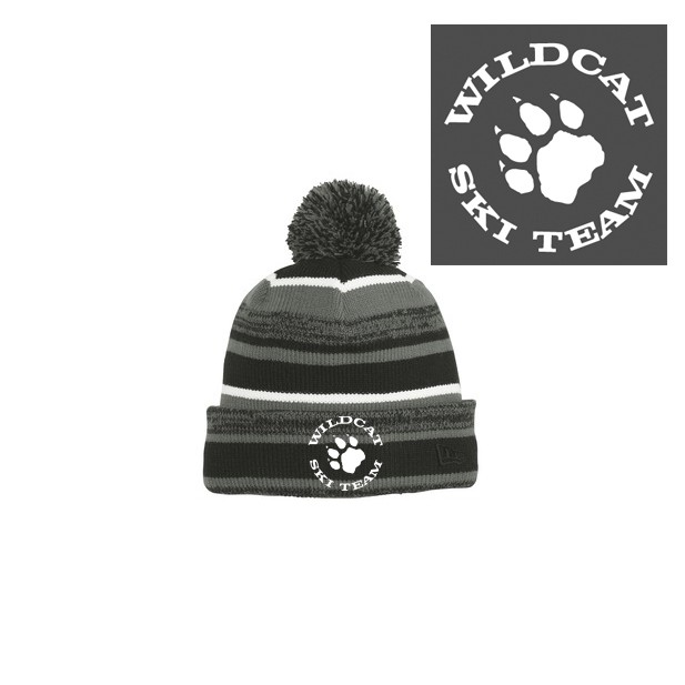 Wildcat Ski Team SanMar New Era Sideline Beanie
