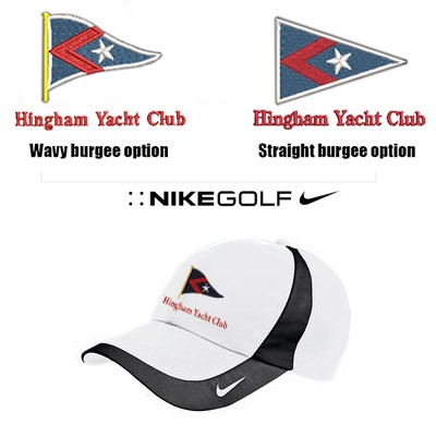 Hingham Yacht Club Nike Brand Premium Dri-FIT Technical Colorblock Cap- Part of the Nike GOLF Performance Series