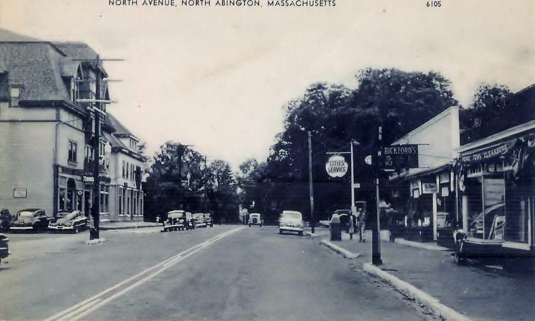 North Avenue, Abington 1940's- our neighbor!