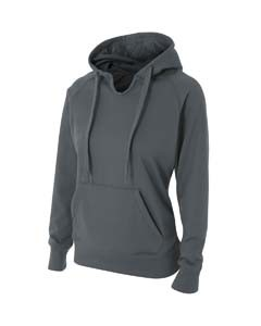 A4 Drop Ship Ladies' Tech Fleece Hoodie