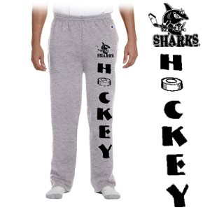 Cape Cod Canal Youth Hockey Champion Brand Eco® 9 oz. Open-Bottom Fleece SweatPant with Pockets, Youth & Adult sizes