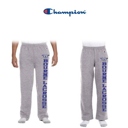 Bourne Lacrosse Champion Eco® 9 oz. Open-Bottom Fleece Pant with Pockets