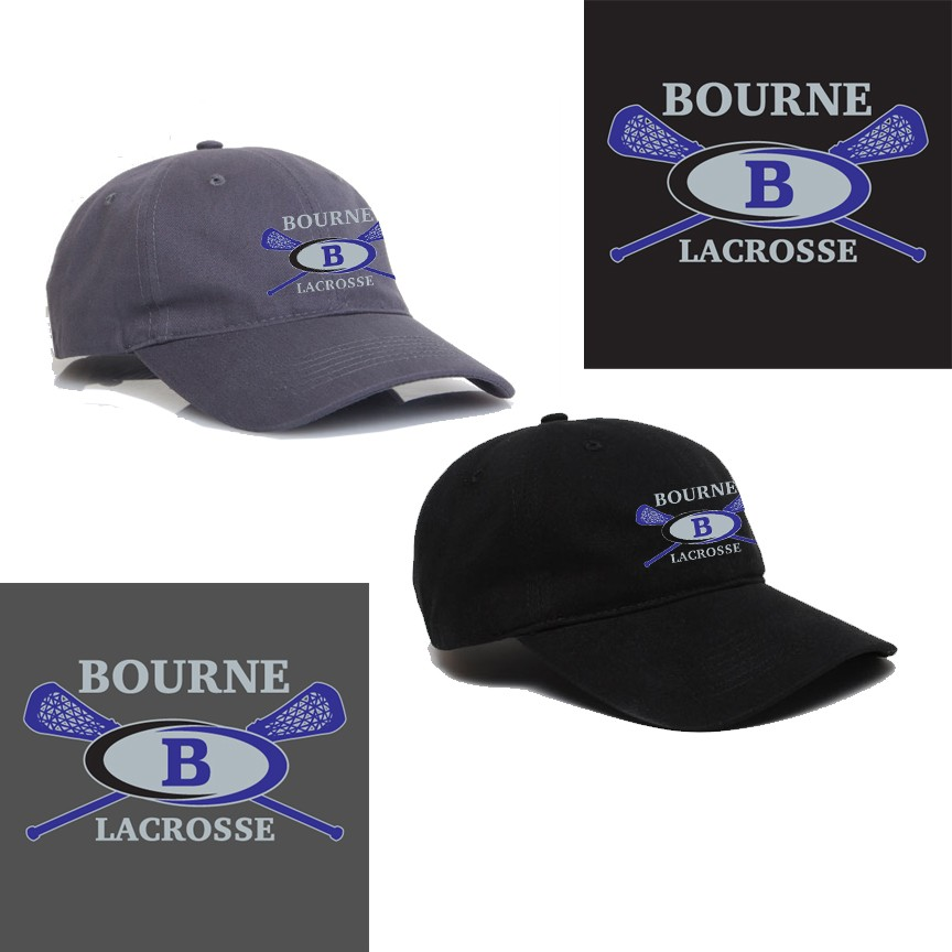 Bourne Lacrosse Pacific Headwear Brand PE6 Buckle Strap Adjustable Cap