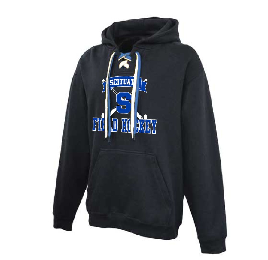 Scituate High Field Hockey Pennant Brand Faceoff Lace Hoodie