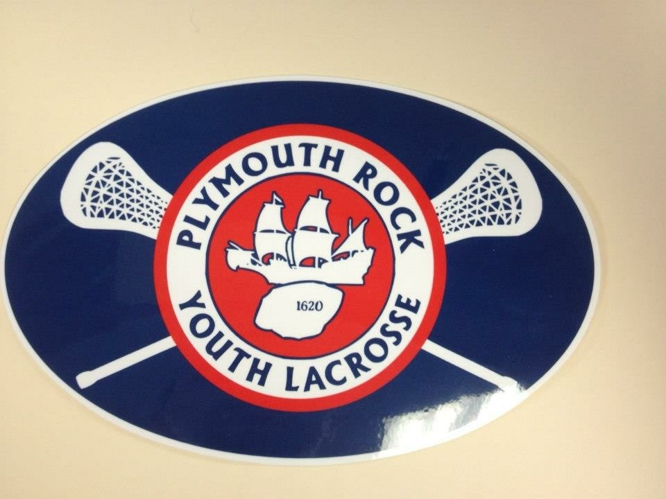 Plymouth Rock Youth Lacrosse Custom Stickers