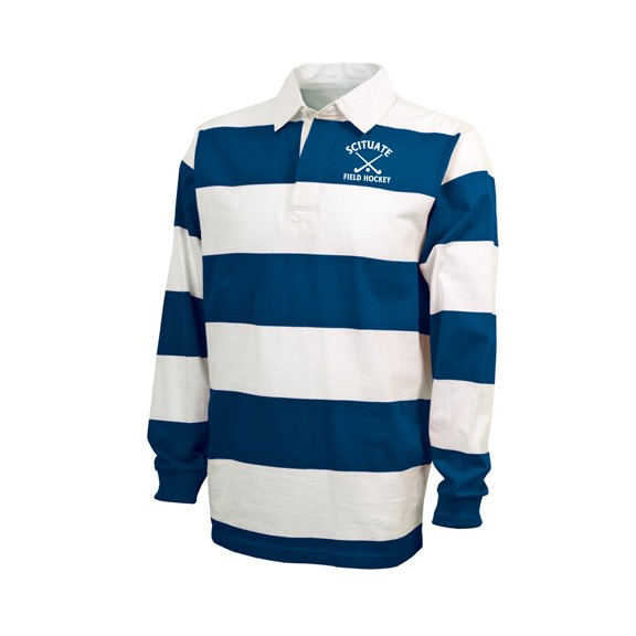 Scituate High Field Hockey Charles River Brand Classic Rugby Shirt