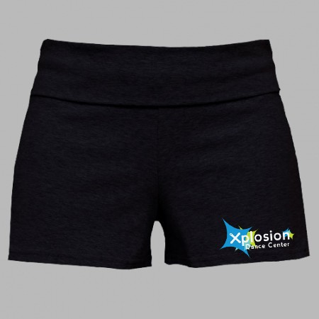 Xplosion Dance Center Boxercraft Practice (Yoga Style) Shorts for Girls & Ladies