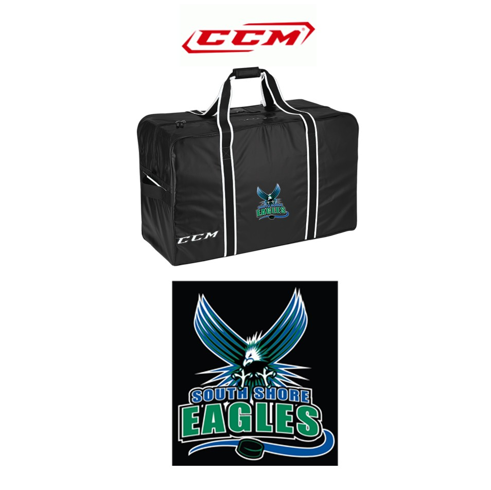 South Shore Eagles CCM Pro Player Bag, Large 32""