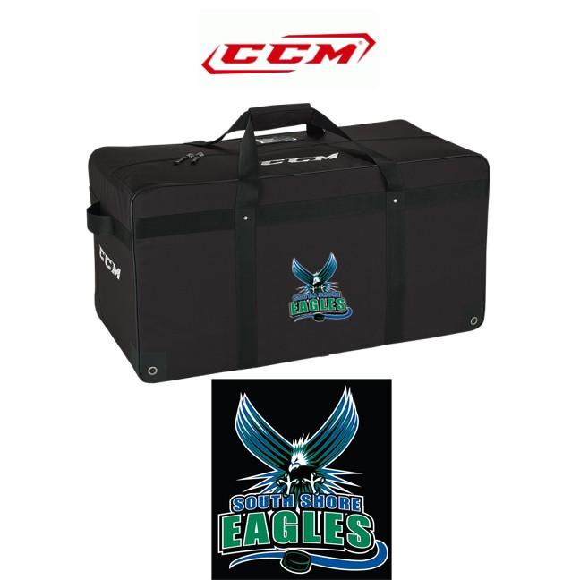 "South Shore Eagles CCM Pro Core 38"" Carry Hockey Equipment Bag"