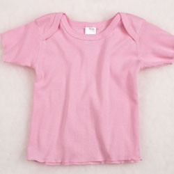Rabbit Skins Infants'5 oz. Baby Rib Lap Shoulder T-Shirt R3400