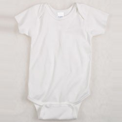 Rabbit Skins Infants' 5 oz. Baby Rib Lap Shoulder Bodysuit (Creeper) Model 4400