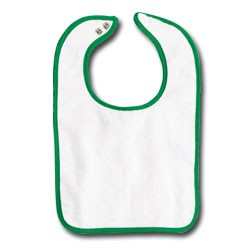 Rabbit Skins Infants' Terry Snap Bib RS1003