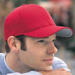 FlexFit Six Panel Low Profile Athletic Mesh Flexfit Cap 6777