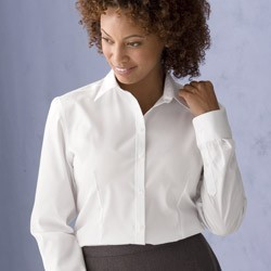 Van Heusen Ladies' True Wrinkle-Free Cotton Pinpoint Oxford 13V0144
