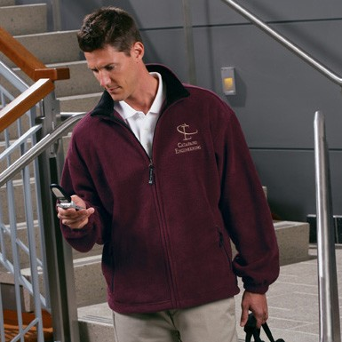 Charles River Mens' Voyager Fleece Jacket