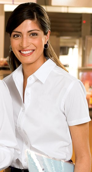 Port Authority® Ladies Short Sleeve Easy Care, Soil Resistant Shirt L507- CLEARANCE