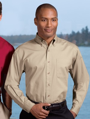 Port Authority® Long Sleeve Twill Shirt S600T
