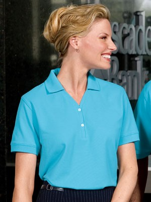 Port Authority® Ladies 100% Pima Cotton Polo L448