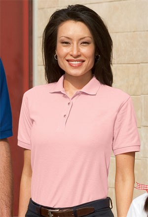Port Authority® Ladies Silk Touch™ Polo Sportshirt L500