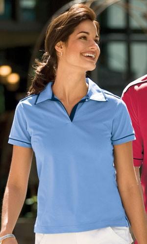 Sport-Tek Ladies Dri Mesh V-Neck Sportshirt L469