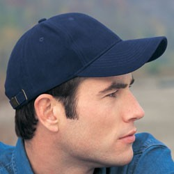 Anvil Solid Brushed Twill Cap