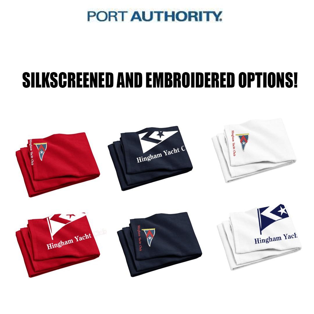 Hingham Yacht Club Port Authority® - Beach Towel. PT42