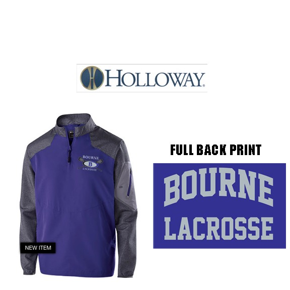 Bourne Lacrosse Holloway Brand Raider Pullover