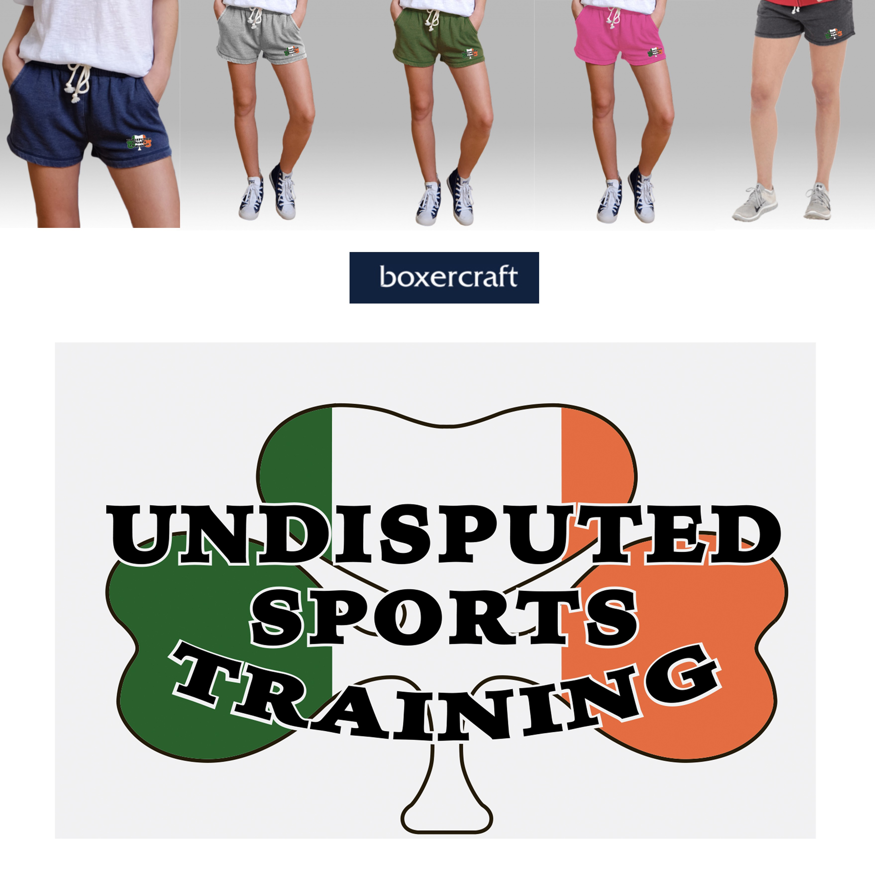 Undisputed Sports Training Boxercraft Rally Short