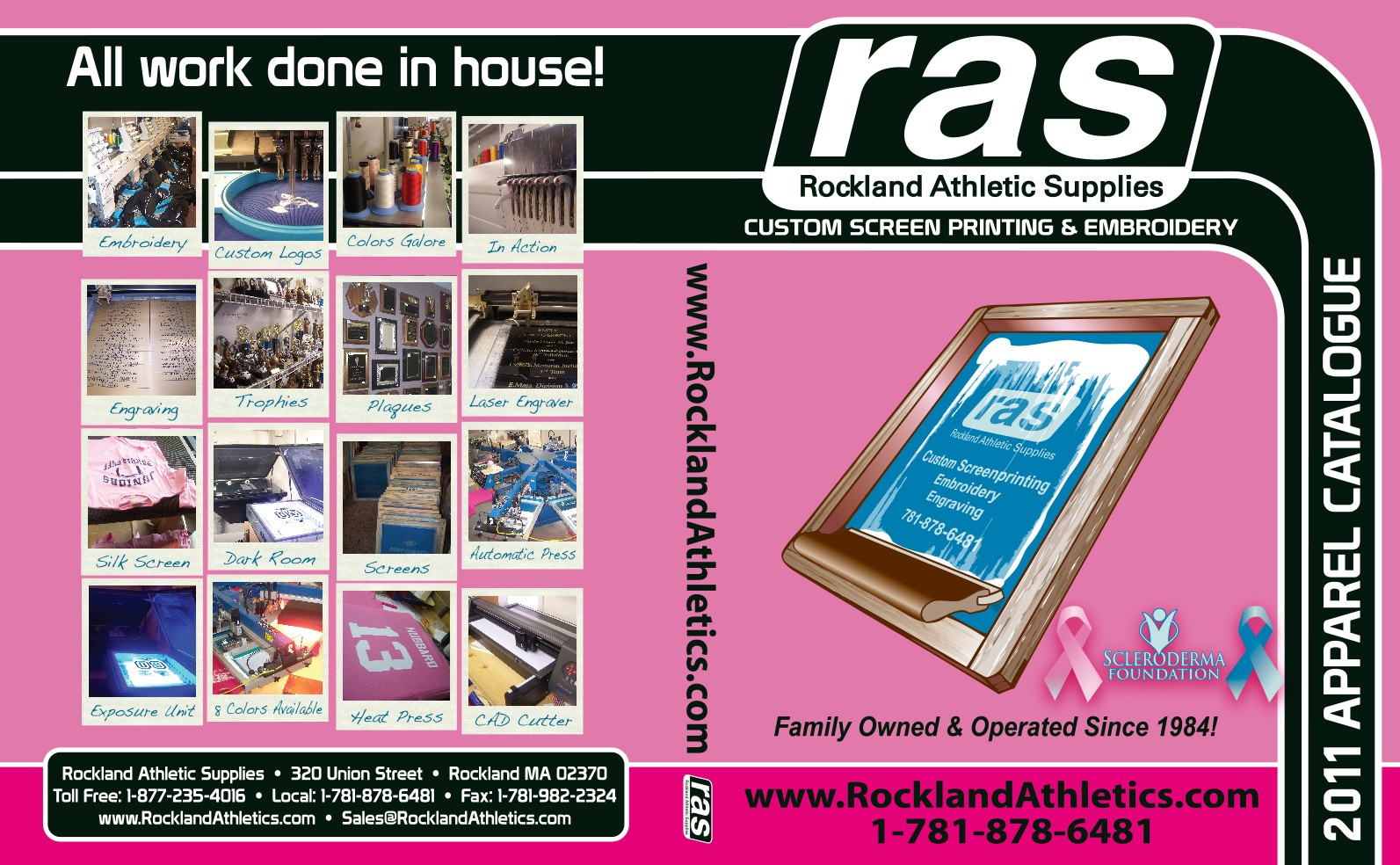 RAS Catalogue 2011