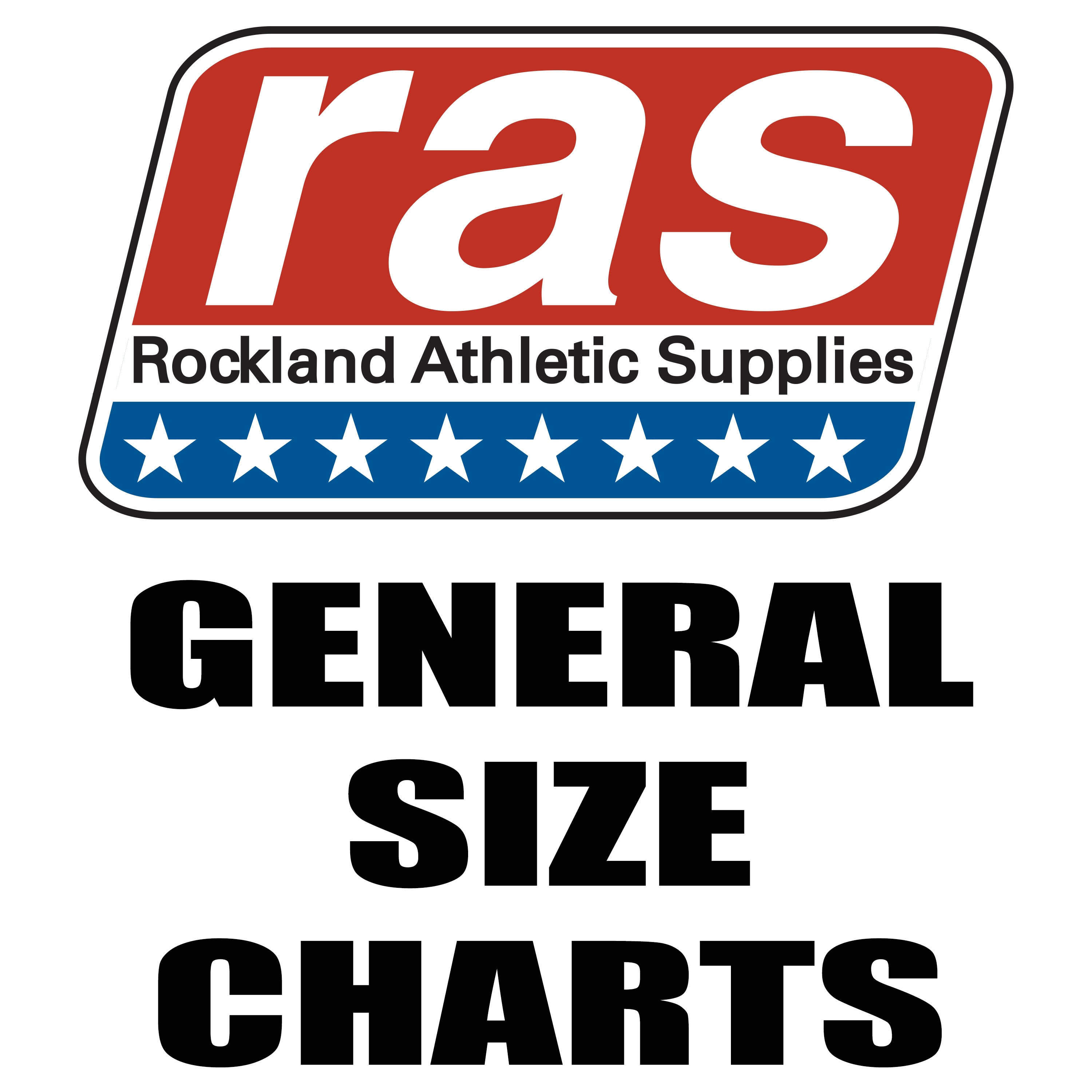 SIZE CHART- General Apparel