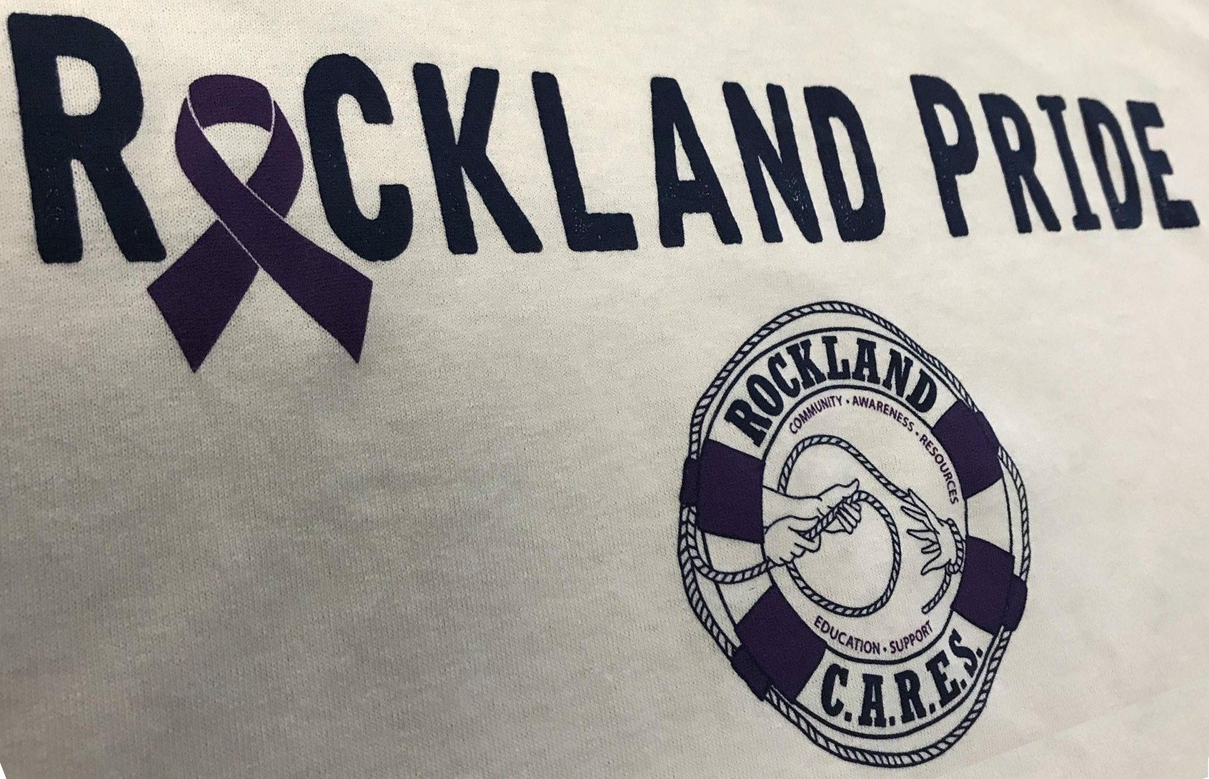 Rockland Pride Tees Logo, Opioid Fundraiser