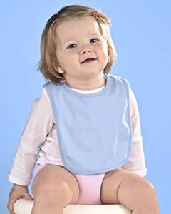 Rabbit Skins Drop Ship Infant Jersey 1-Ply Velcro™ Bib