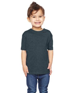 Rabbit Skins Toddler's Vintage Heathered Fine Jersey T-Shirt