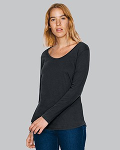 American Apparel Ladies' Long-Sleeve Ultra Wash T-Shirt RSA6304