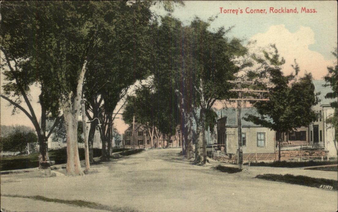 Torrey's Corner, Rockland Mass